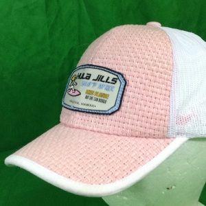 5f4d842cfbb Zephyr Accessories - Hula Jill s Surf Wax Hawaii Pink Straw Dome Hat